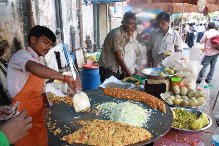 Street Food in Mumbai