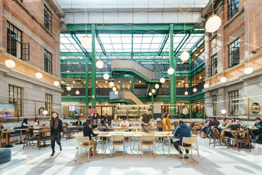 The office of the future: Palace or co-working hive?