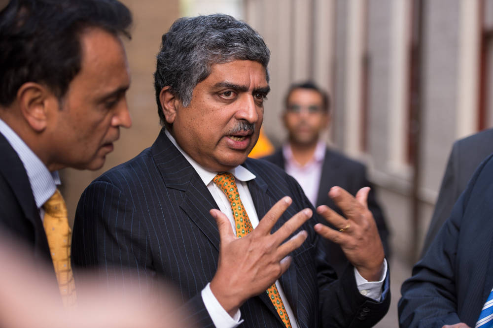 The dilemma of being Nandan Nilekani