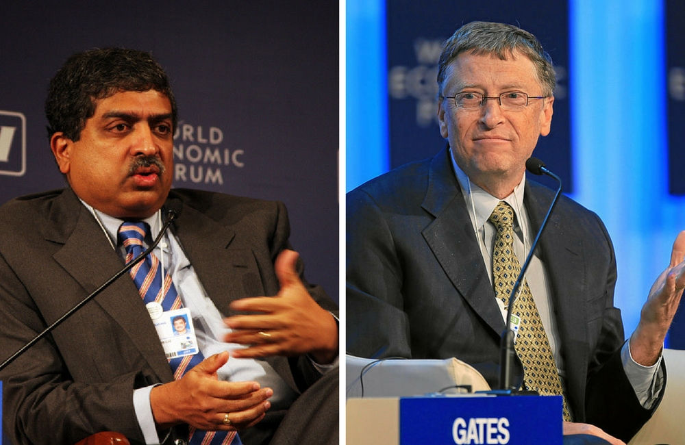 Bill Gates, Nandan Nilekani and the idea of societal platforms