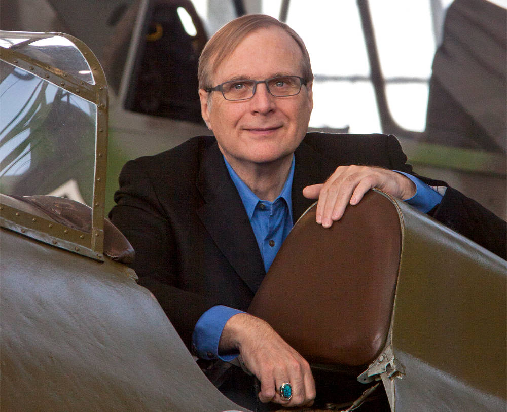 Paul Allen the artist versus Bill Gates the entrepreneur