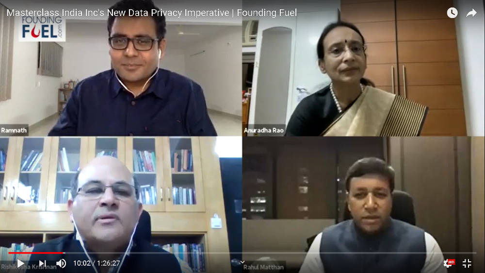 Masterclass: India Inc's New Data Privacy Imperative