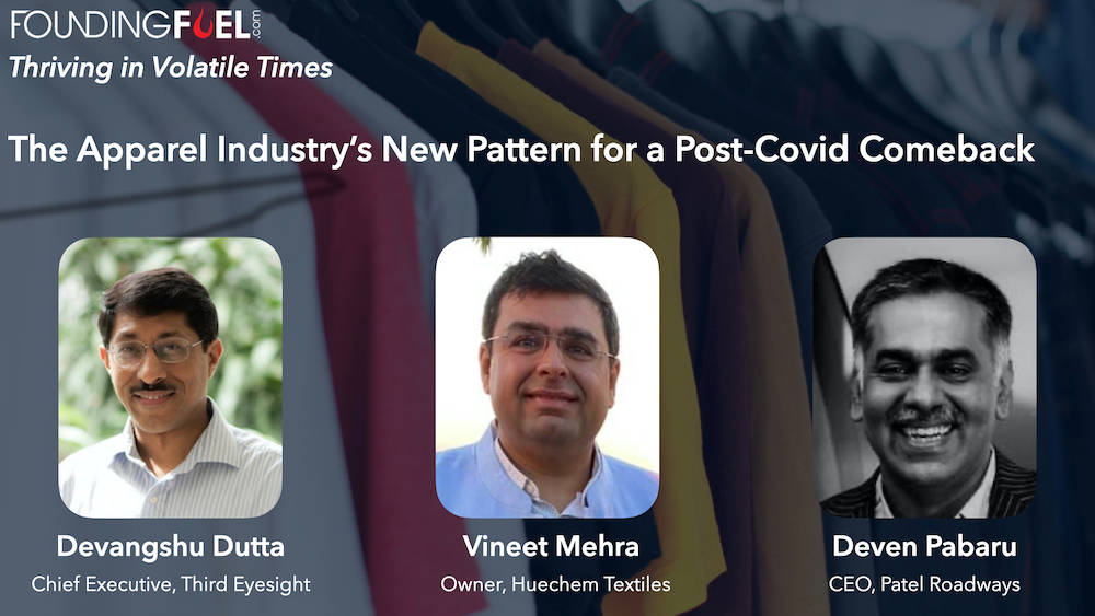 The apparel industry's new pattern for a post-Covid comeback