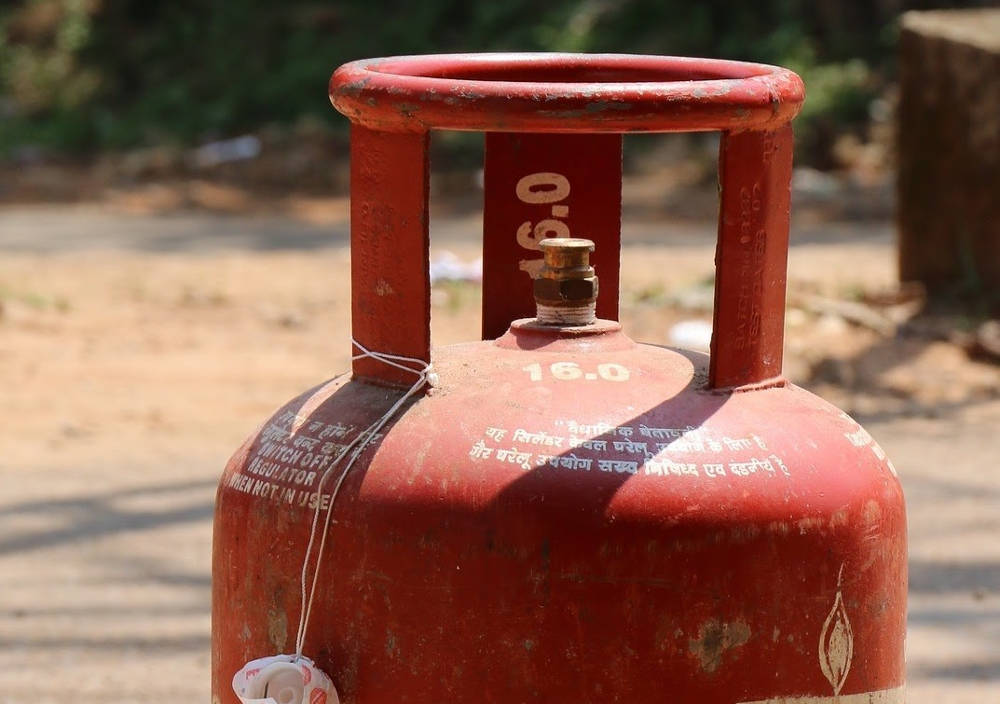 The curious case of an unused LPG cylinder
