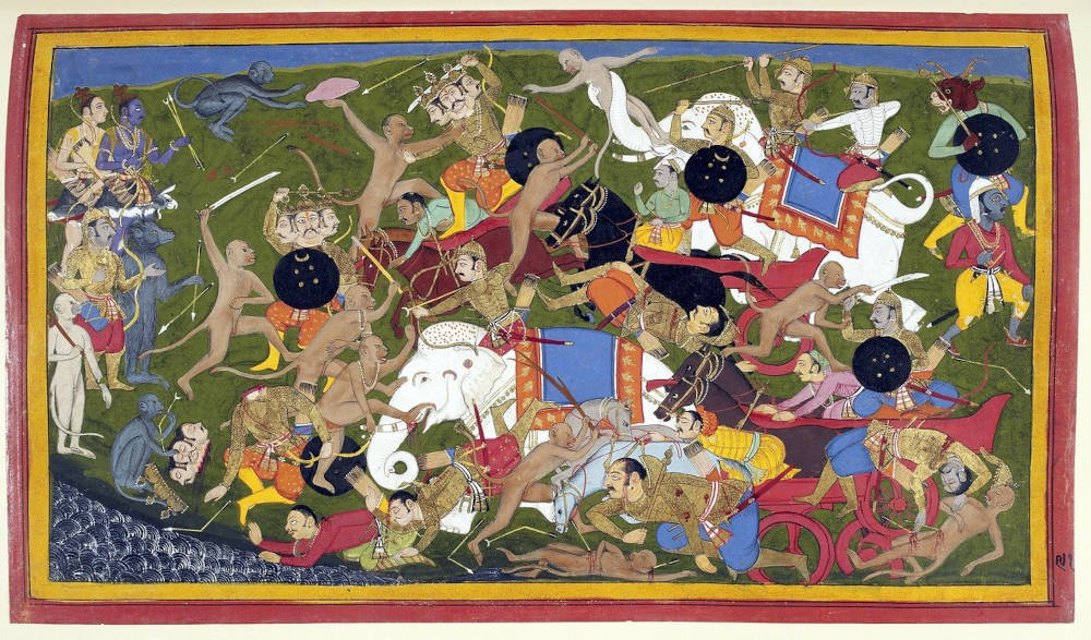 FF Daily #215: Hanuman's Ramayana