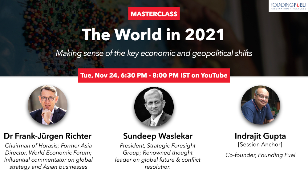 Masterclass: The World in 2021