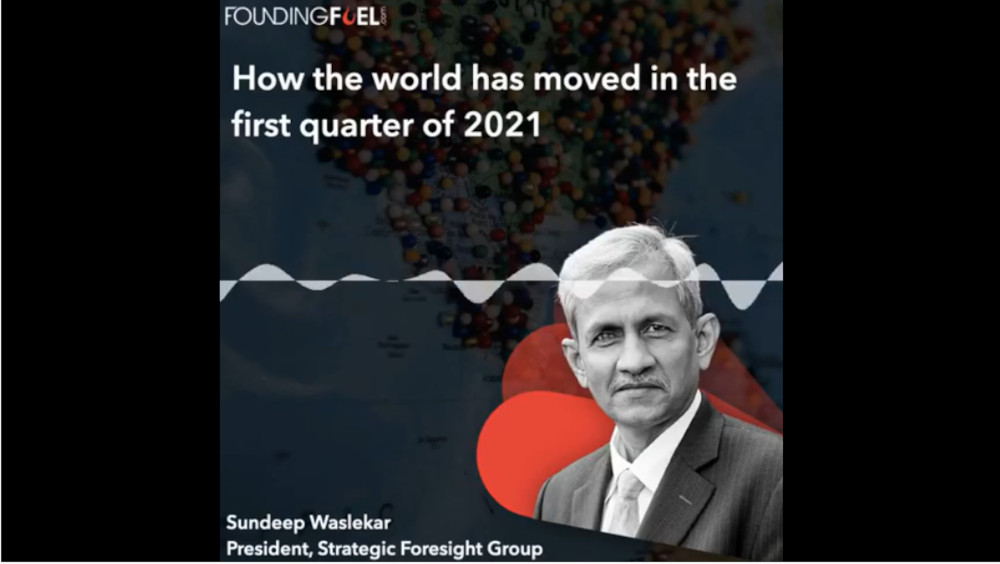 How the world has moved in the first quarter of 2021