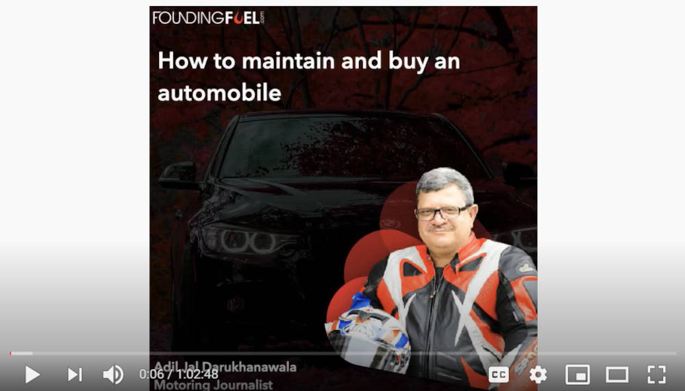 FF Recommends: How to maintain and buy an automobile