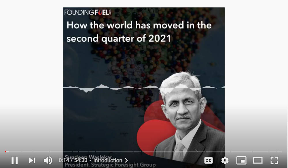 How the world has moved in the second quarter of 2021