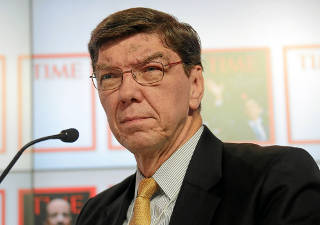 The life and times of Clayton Christensen