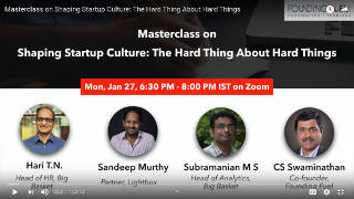 Masterclass: Shaping startup culture