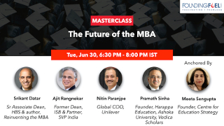 Masterclass: The Future of the MBA