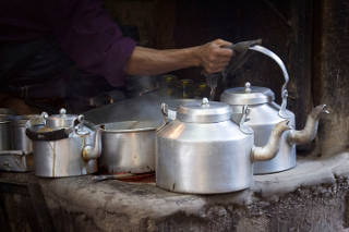 Doctoral dissertations from a tea stall